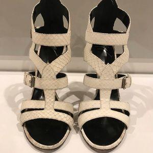 Giuseppe Zanotti High Heels Ivory White Size 7.5